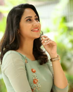 Actress Miya George Stills during Interview For Ungarala Rambabu | Picture 1527259