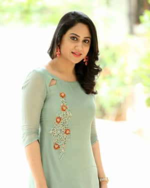 Actress Miya George Stills during Interview For Ungarala Rambabu | Picture 1527272
