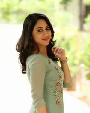 Actress Miya George Stills during Interview For Ungarala Rambabu | Picture 1527269