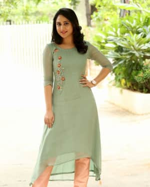 Actress Miya George Stills during Interview For Ungarala Rambabu | Picture 1527264