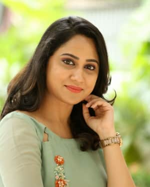 Actress Miya George Stills during Interview For Ungarala Rambabu | Picture 1527262