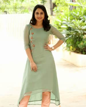 Actress Miya George Stills during Interview For Ungarala Rambabu | Picture 1527263