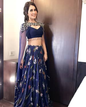 Raashi Khanna at Promotion Of Jai Lava Kusa In Big Boss Photos | Picture 1528510