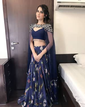 Raashi Khanna at Promotion Of Jai Lava Kusa In Big Boss Photos | Picture 1528505