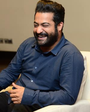 Jr. NTR Interview for his upcoming movie Jai Lava Kusa Photos