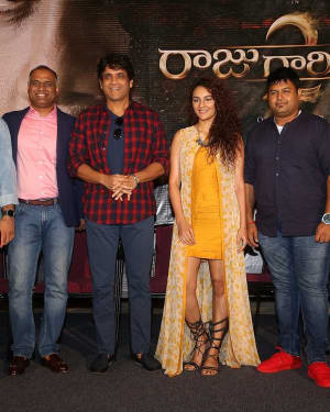 Raju Gari Gadhi 2 Movie Trailer Launch Photos | Picture 1529067