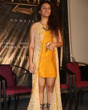 Seerat Kapoor - Raju Gari Gadhi 2 Movie Trailer Launch Photos | Picture 1529064
