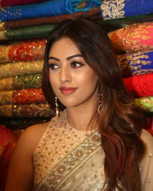 Anu Emmanuel - KLM Showroom Opening Photos