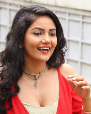 Actress Nandini Hot Stills at Prabhas Movie Opening | Picture 1529667