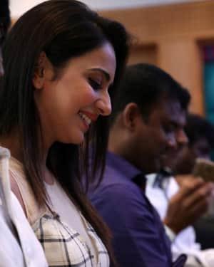 Rakul Preet Singh - Spyder Movie Chennai Press Meet Photos | Picture 1530112