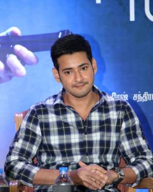 Mahesh Babu - Spyder Movie Chennai Press Meet Photos | Picture 1530146
