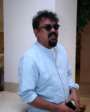 Santosh Sivan - Spyder Movie Chennai Press Meet Photos