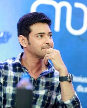 Mahesh Babu - Spyder Movie Chennai Press Meet Photos | Picture 1530073