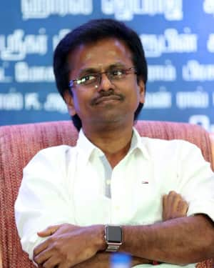 A. R. Murugadoss - Spyder Movie Chennai Press Meet Photos