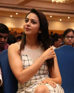 Rakul Preet Singh - Spyder Movie Chennai Press Meet Photos | Picture 1530107