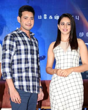 Spyder Movie Chennai Press Meet Photos