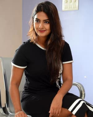 Actress Neha Deshpande at Vaadena Movie First Look and Teaser Launch Photos | Picture 1530625