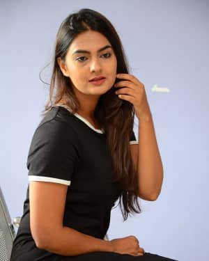 Actress Neha Deshpande at Vaadena Movie First Look and Teaser Launch Photos | Picture 1530616