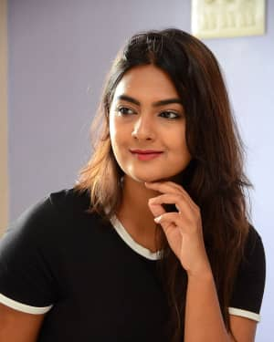 Actress Neha Deshpande at Vaadena Movie First Look and Teaser Launch Photos | Picture 1530627