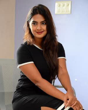 Actress Neha Deshpande at Vaadena Movie First Look and Teaser Launch Photos | Picture 1530628