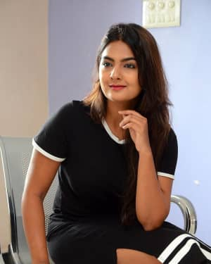 Actress Neha Deshpande at Vaadena Movie First Look and Teaser Launch Photos | Picture 1530626