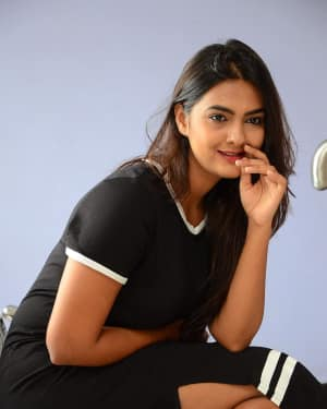 Actress Neha Deshpande at Vaadena Movie First Look and Teaser Launch Photos | Picture 1530617