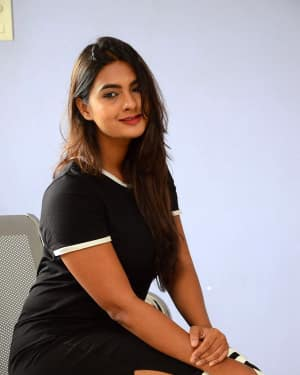 Actress Neha Deshpande at Vaadena Movie First Look and Teaser Launch Photos | Picture 1530630
