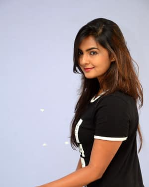 Actress Neha Deshpande at Vaadena Movie First Look and Teaser Launch Photos | Picture 1530613