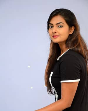 Actress Neha Deshpande at Vaadena Movie First Look and Teaser Launch Photos | Picture 1530614