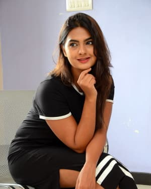 Actress Neha Deshpande at Vaadena Movie First Look and Teaser Launch Photos | Picture 1530623