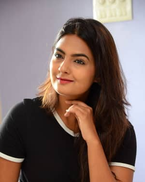Actress Neha Deshpande at Vaadena Movie First Look and Teaser Launch Photos | Picture 1530629