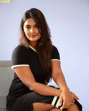 Actress Neha Deshpande at Vaadena Movie First Look and Teaser Launch Photos