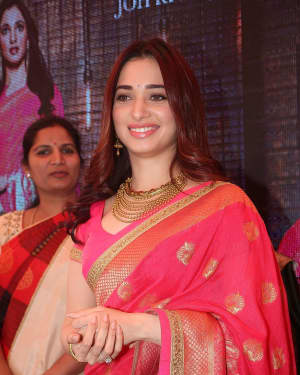 Actress Tamanna Launches Joh Rivaaj Collections Photos | Picture 1530390