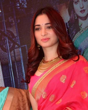 Actress Tamanna Launches Joh Rivaaj Collections Photos
