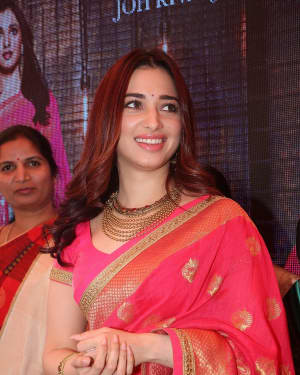 Actress Tamanna Launches Joh Rivaaj Collections Photos | Picture 1530389