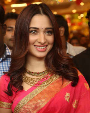 Actress Tamanna Launches Joh Rivaaj Collections Photos | Picture 1530381
