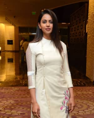 Rakul Preet Singh - Spyder Movie Press Meet in Hyderabad Photos | Picture 1531029