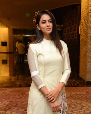 Rakul Preet Singh - Spyder Movie Press Meet in Hyderabad Photos | Picture 1531068