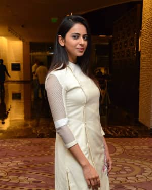 Rakul Preet Singh - Spyder Movie Press Meet in Hyderabad Photos | Picture 1531030