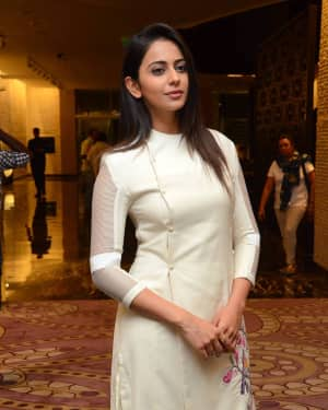 Rakul Preet Singh - Spyder Movie Press Meet in Hyderabad Photos | Picture 1531033