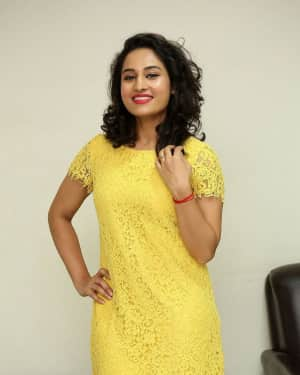 Actress Pooja Ramachandran Hot Stills at an interview