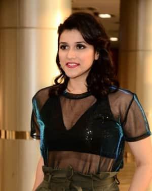 Actress Mannara Chopra Hot Stills at Hi Life Exhibition
