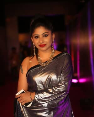 Madhulagna Das (Actress) - Zee Telugu Apsara Awards 2018 Red Carpet Stills