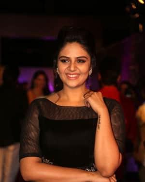 Sreemukhi - Zee Telugu Apsara Awards 2018 Red Carpet Stills