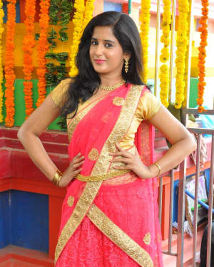 Actress Pallavi Stills at Login Media Production No 2 Movie Opening