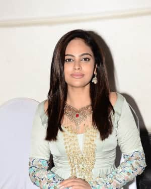 Actress Nandita Swetha Stills at 56th UE The Jewellery Expo