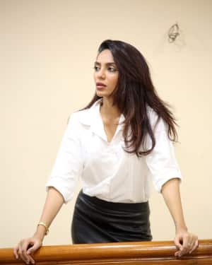 Actress Sobhita Dhulipala Stills at Goodachari Success Meet   Picture 1591788