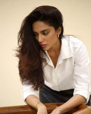 Actress Sobhita Dhulipala Stills at Goodachari Success Meet   Picture 1591793