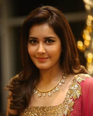 Raashi Khanna - Srinivasa Kalyanam Movie Success Meet Photos