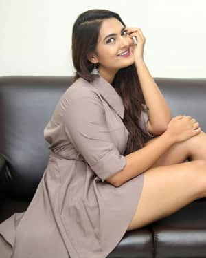 Neha Deshpande Hot Stills at Anuvamshikatha Trailer Launch